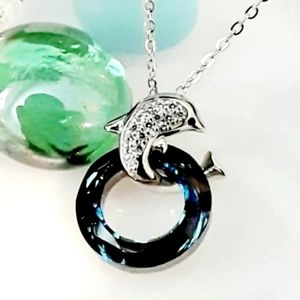 Jewelry - NEW S925 Nautical Dolphin Necklace